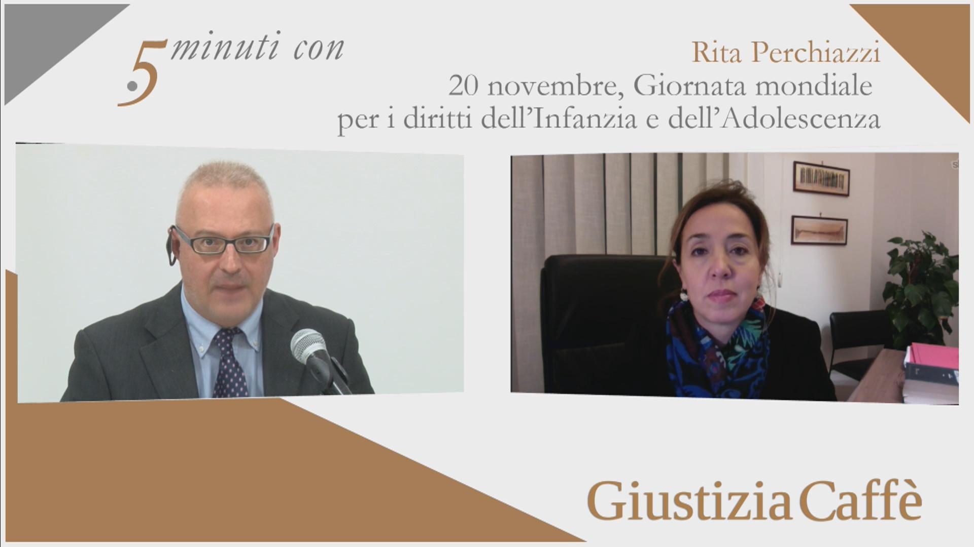 20 novembre, Giornata mondiale per i diritti dell'Infanzia e dell'Adolescenza. Intervista Rita Perchiazzi, Presidente dell'Unione Camere Minorili