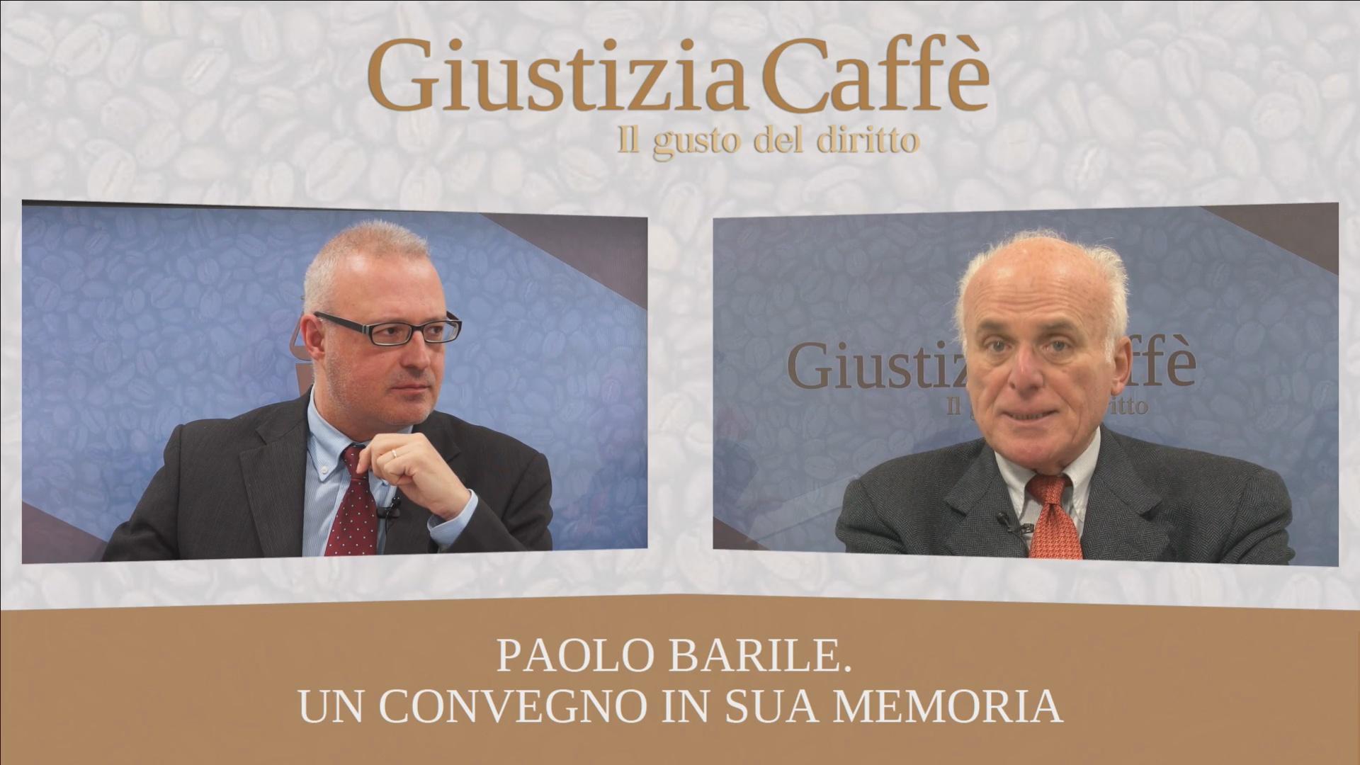 Paolo Barile. Un convegno in sua memoria