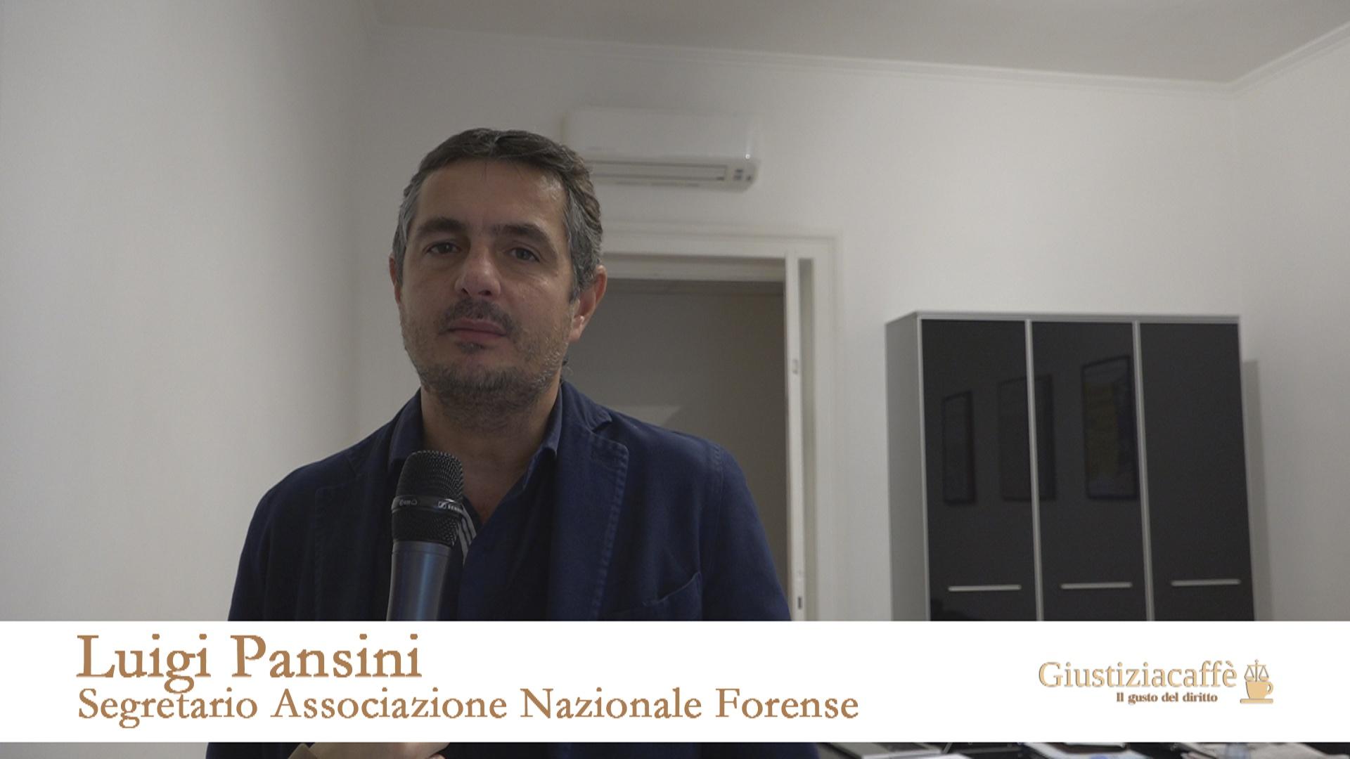"""Luigi Pansini, Segretario Anf, """"marcia indietro sulla polizza infortuni per gli avvocati è una beffa. Anche per chi già si è assicurato"""""""