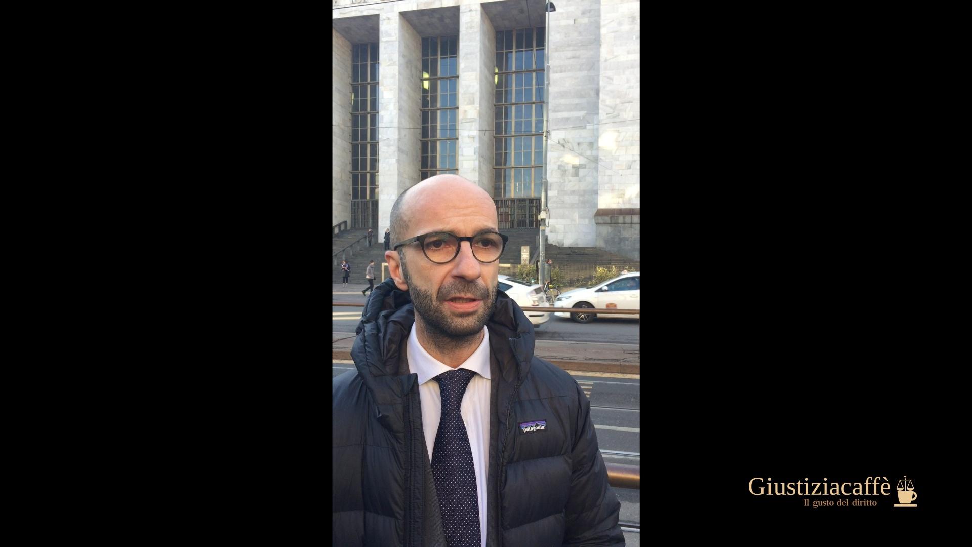 La protesta per i braccialetti elettronici – Eugenio Losco, Camera penale Milano