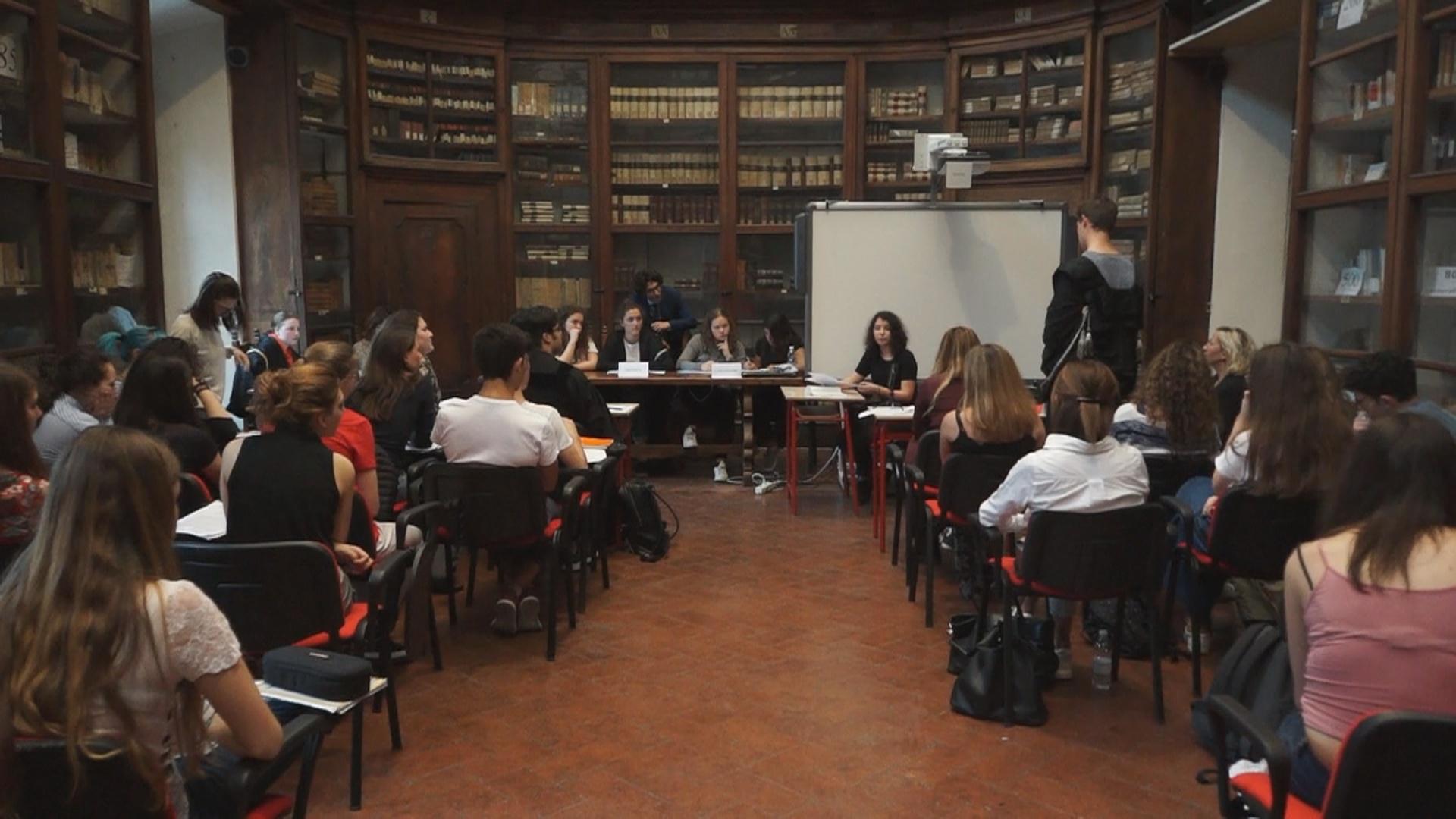 Legalità in classe, la simulazione di un processo