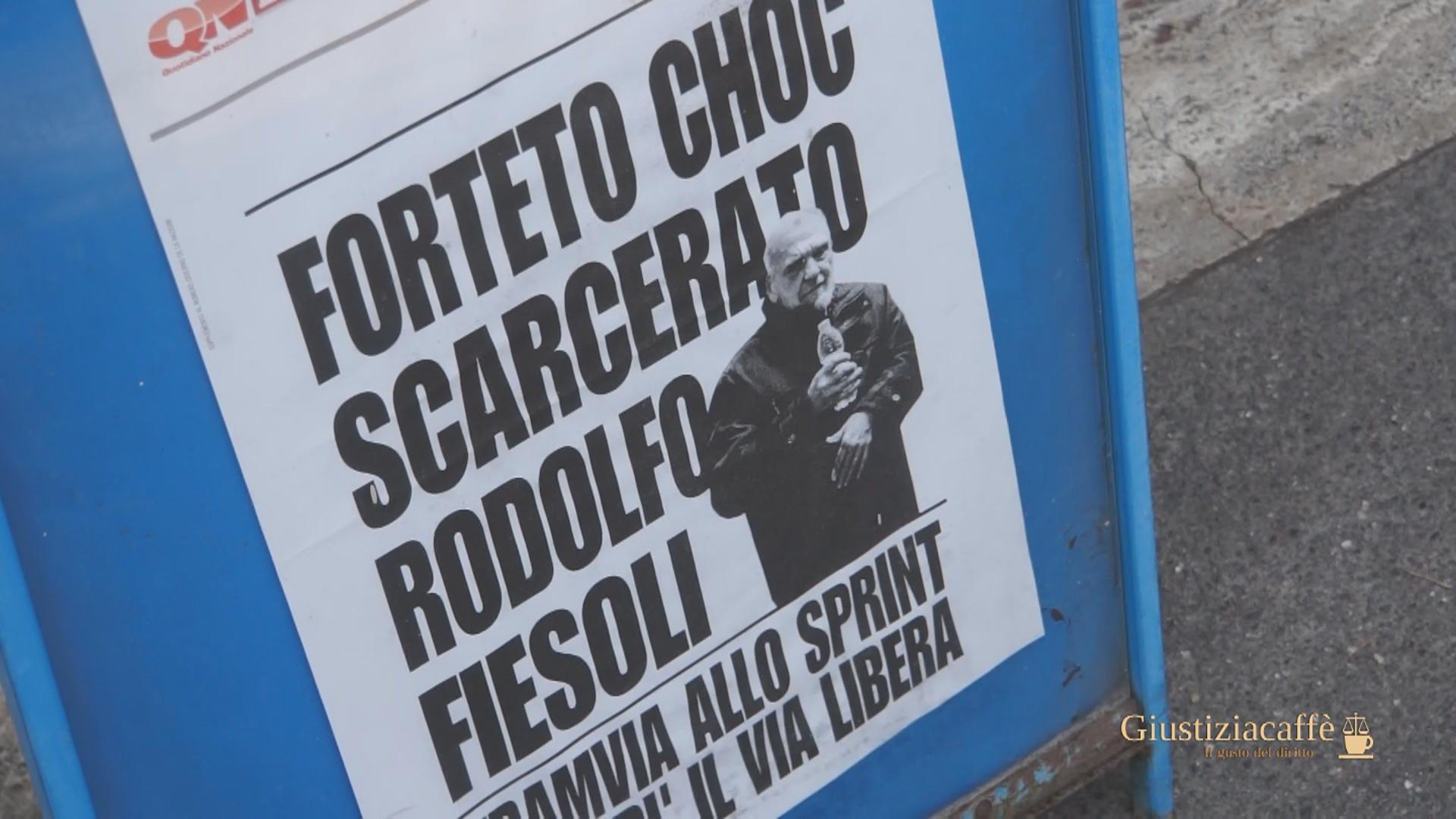 SONDAGGIO SU SCARCERAZIONE DI RODOLFO FIESOLI