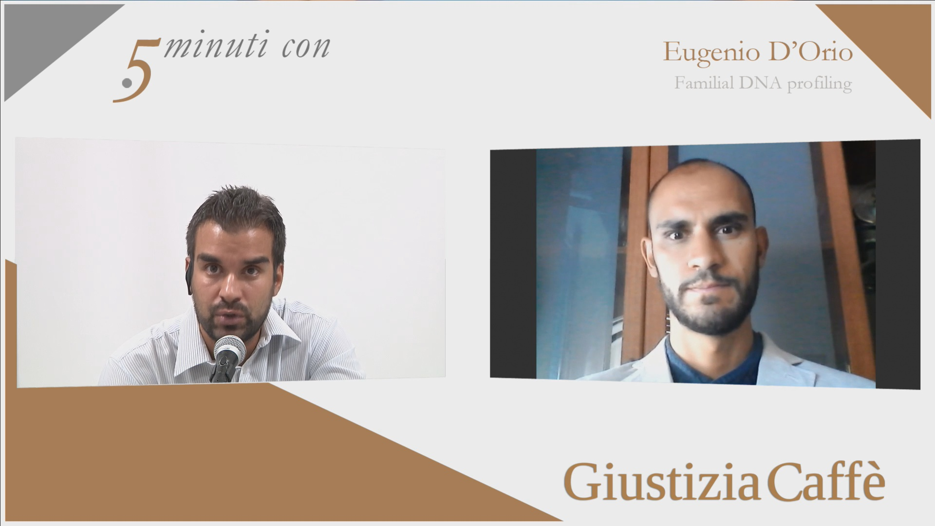 """""""Familial Dna profiling"""", risponde il biologo forense Eugenio D'Orio"""