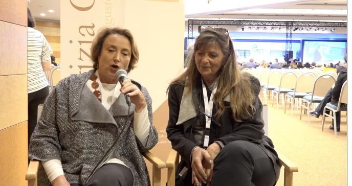 XXXIV Congresso Nazionale Forense. Ester Perifano intervista Elisabetta Rampelli Presidente Nazionale UIF