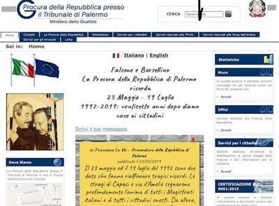 Palermo, sul sito Procura spazio aperto per ricordare Falcone