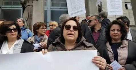 Riforma della giustizia, la protesta dei magistrati onorari di Catania