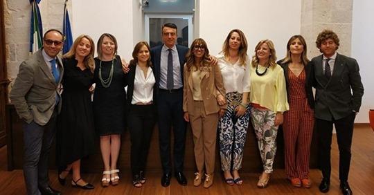 Associazione Giovani avvocati Trani, Riccardo Giorgino è il nuovo presidente. Subentra a Tiziana Carabellese