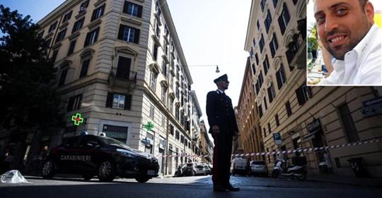 Un carabiniere ucciso a coltellate in centro a Roma