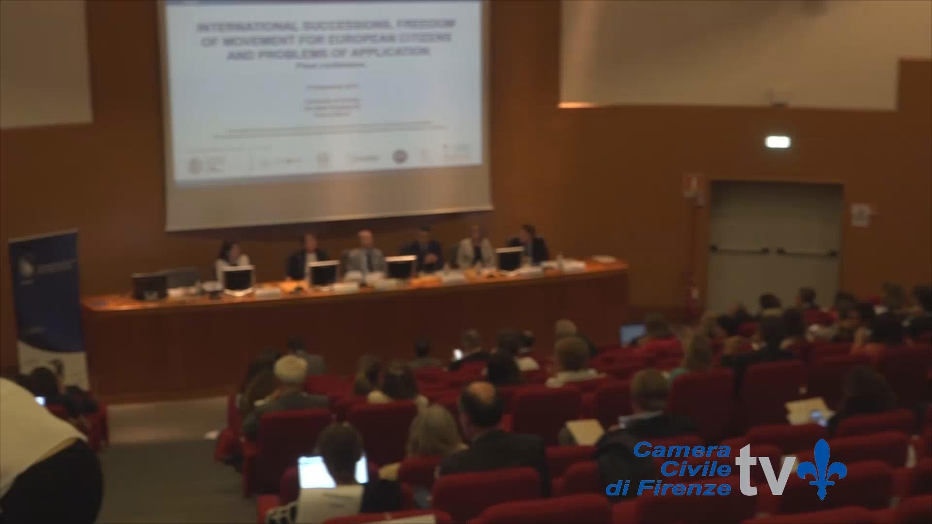 Camera Civile Firenze: le successioni internazionali