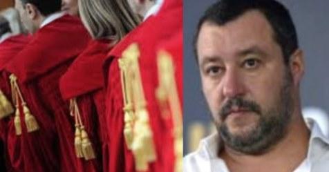 Immigrazione clandestina, assalto della magistratura contro Salvini
