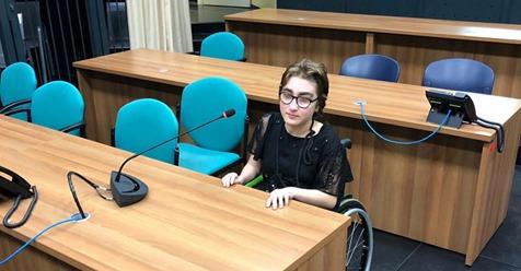 Cristina, 16 anni e il sogno di diventare magistrato