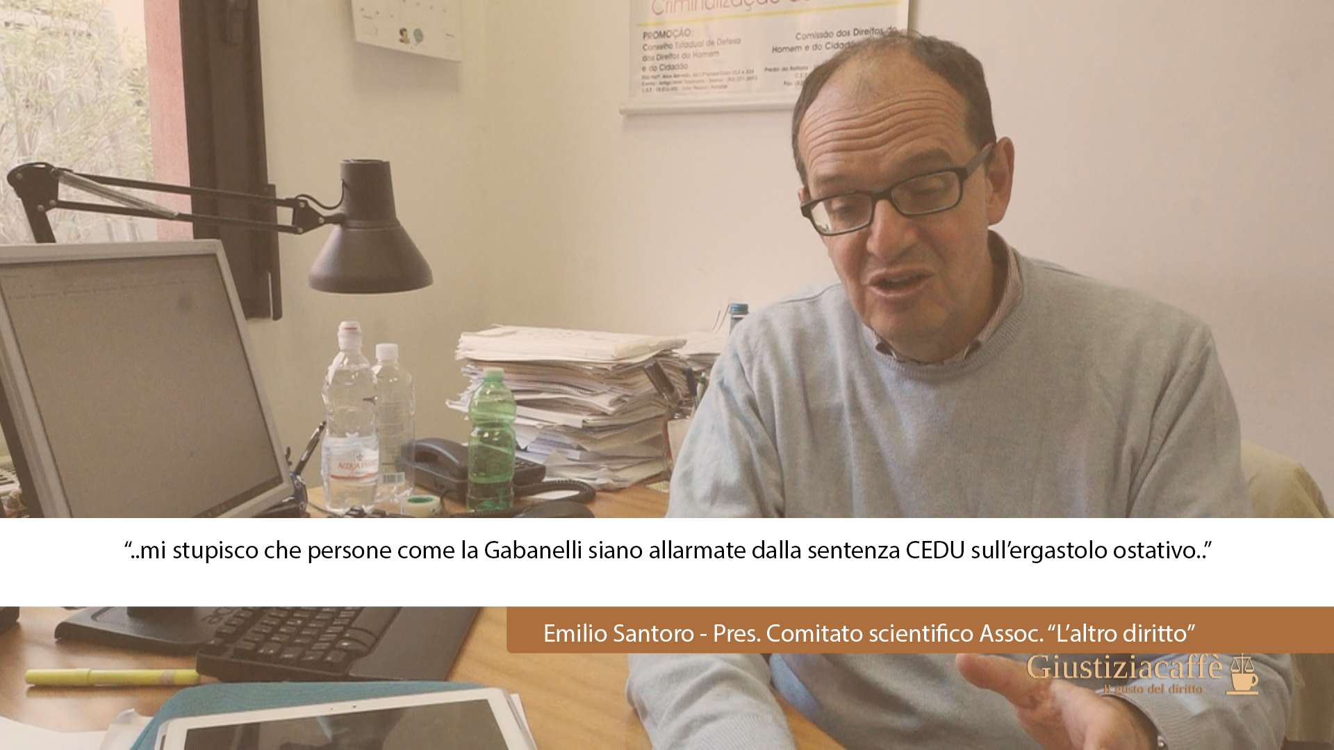 """""""Mi stupisco che la Gabanelli sia allarmata dalla sentenza CEDU sull'ergastolo ostativo.."""""""