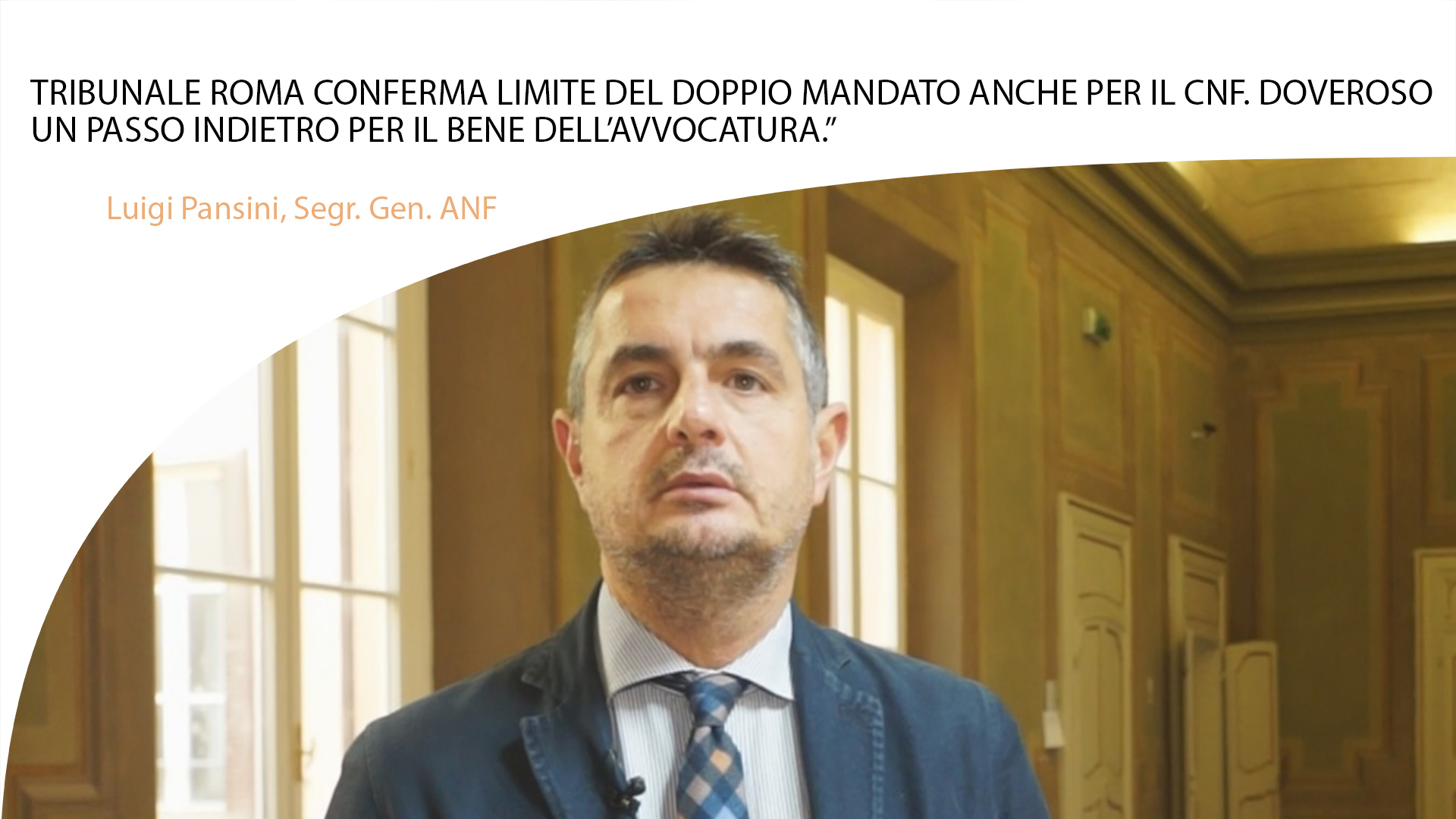 """""""TRIBUNALE ROMA CONFERMA LIMITE DEL DOPPIO MANDATO ANCHE PER IL CNF. DOVEROSO UN PASSO INDIETRO PER IL BENE DELL'AVVOCATURA."""""""