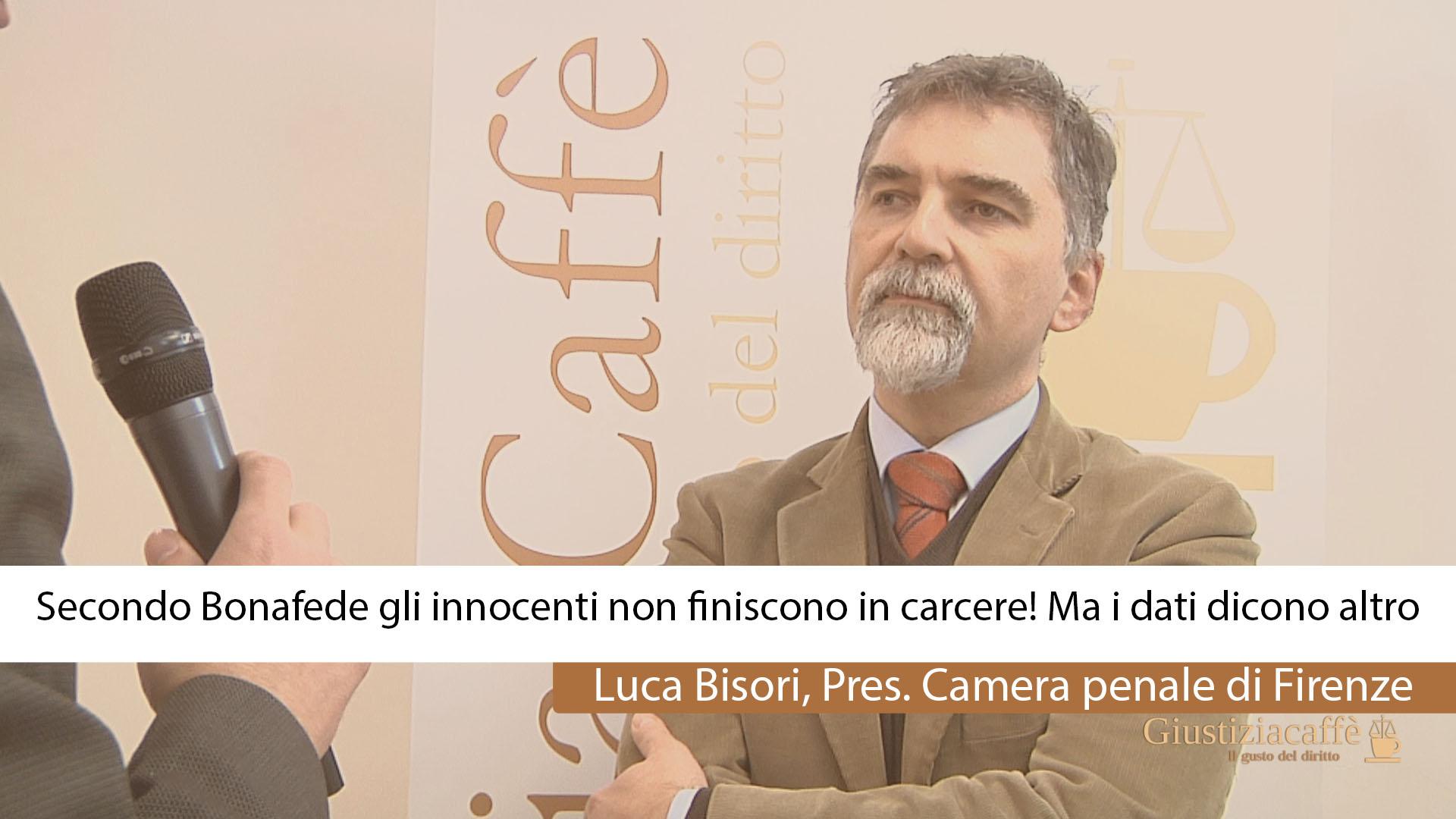 Secondo Bonafede gli innocenti non finiscono in carcere! Ma i dati dicono altro