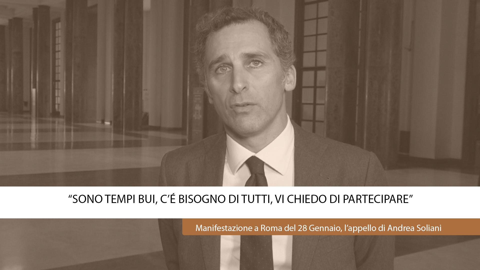 """""""SONO TEMPI BUI, C'È BISOGNO DI TUTTI,VI CHIEDO DI PARTECIPARE"""""""
