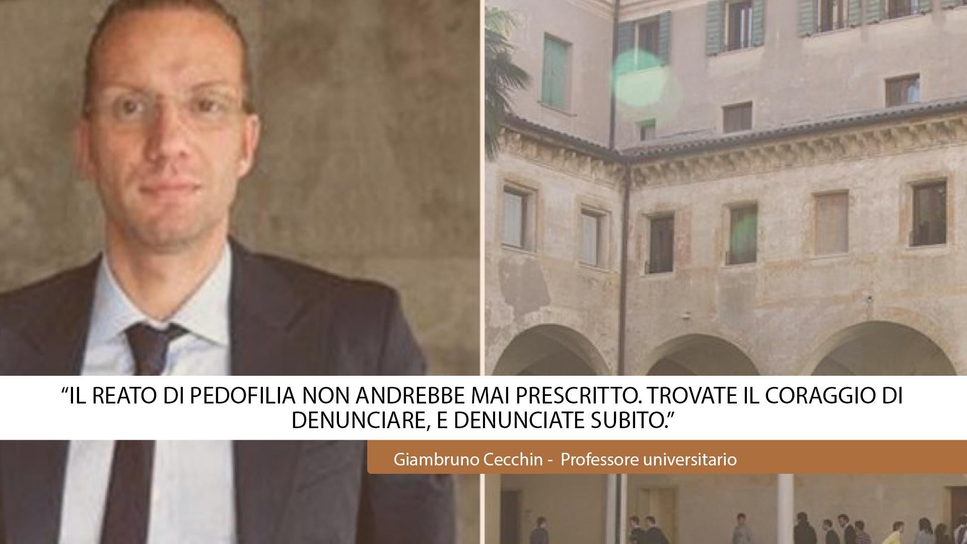 """""""TROVATE IL CORAGGIO DI DENUNCIARE, E DENUNCIATE SUBITO."""""""