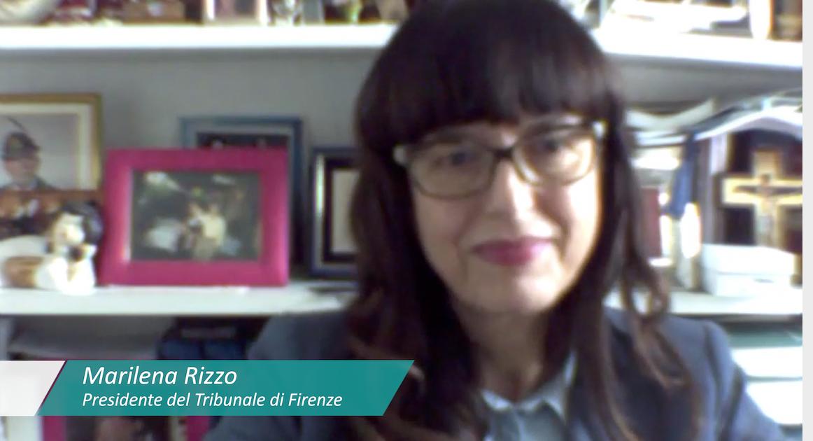 Coronavirus. Messaggio ai cittadini del Presidente del Tribunale di Firenze Marilena Rizzo in questo difficile momento per il Paese.