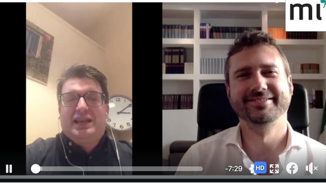 Video-incontro con Markus Krienke, Professore di filosofia moderna ed etica sociale alla facoltà teologica di Lugano