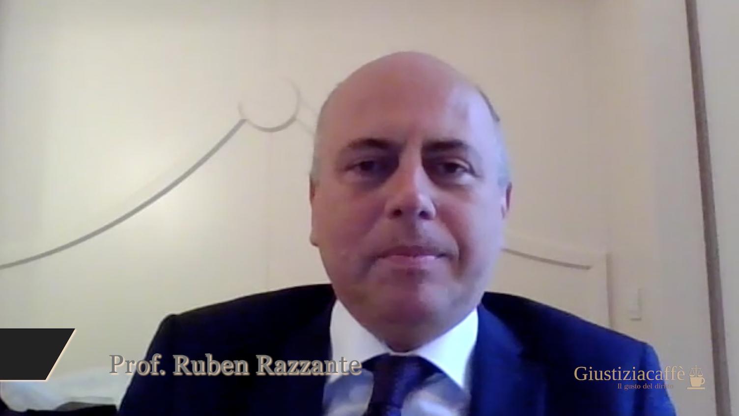 """Copyright. Ruben Razzante """"I colossi del web dovranno pagare gli editori """"."""