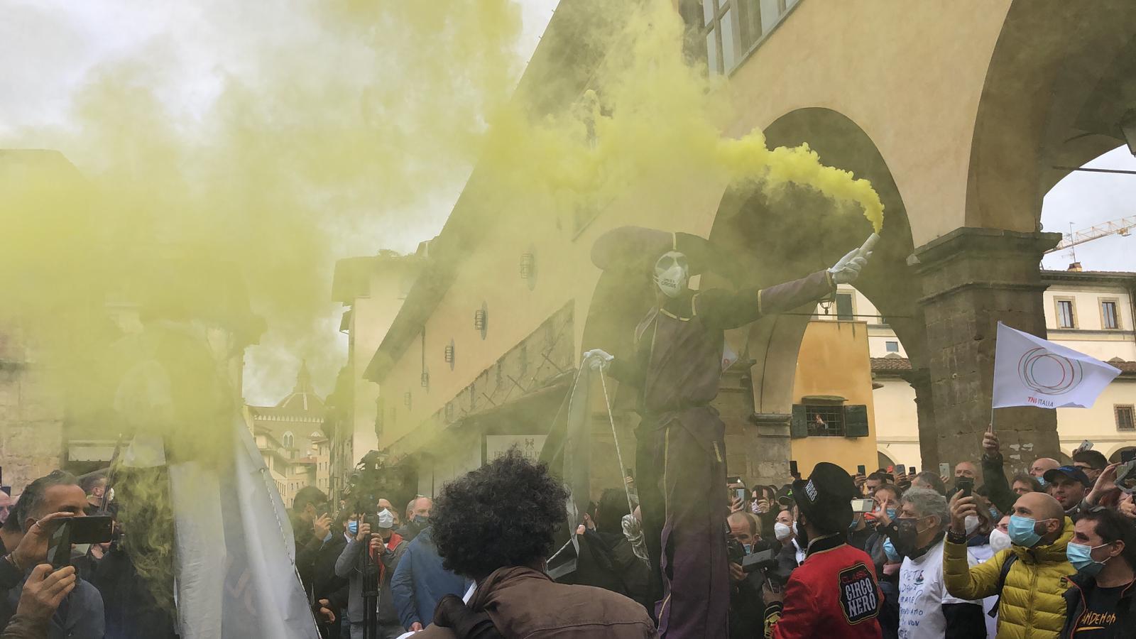 PONTI PER IL FUTURO – I Ristoratori Toscana a piedi verso Roma