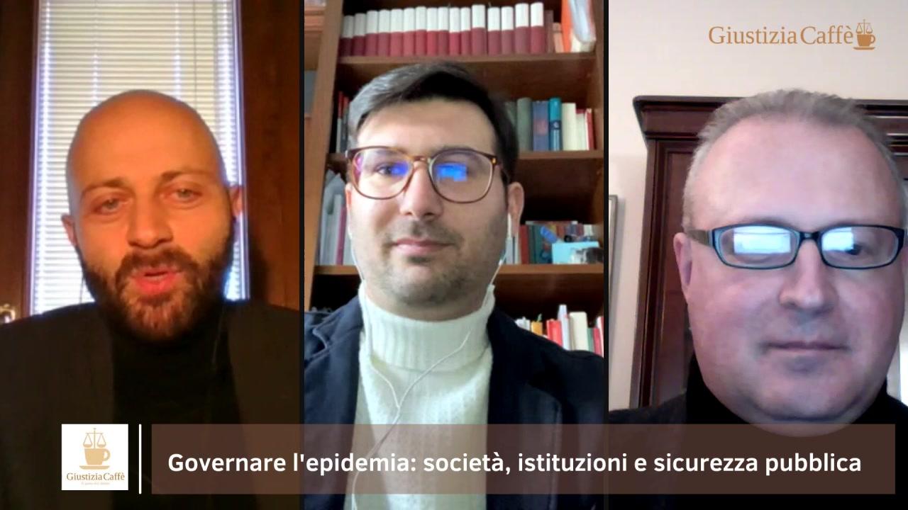 """""""Governare l'epidemia: società, istituzioni e sicurezza pubblica"""""""