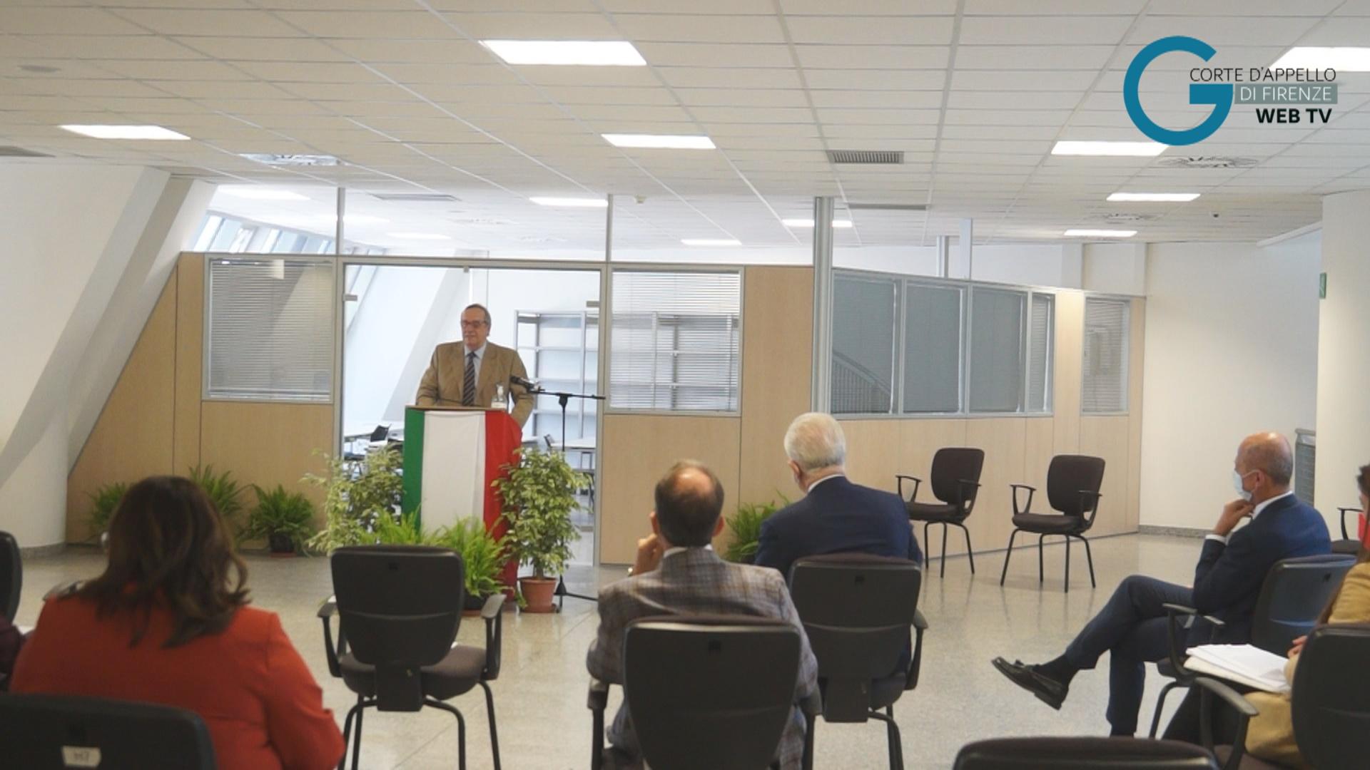 Inaugurato il Centro di digitalizzazione degli atti processuali delle stragi del '93