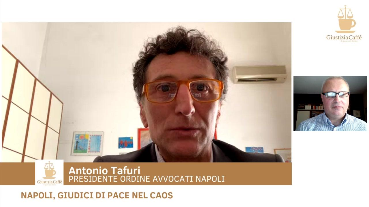 Napoli, giudici di pace nel caos