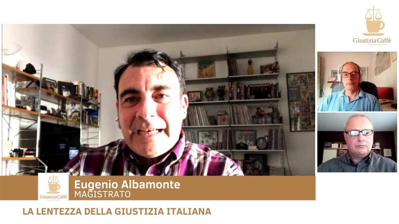 La lentezza della Giustizia italiana