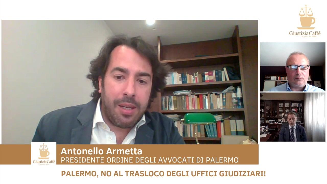 Palermo, no al trasloco degli uffici giudiziari!